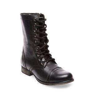 Steve Madden Black Troopa Boots